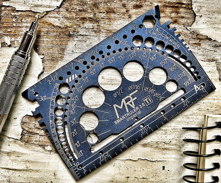 SmartRuler is the EDC Multi-Tool You Need In Your Wallet at werd.com