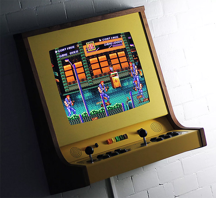 The OriginX is a Stylized & Customized Classic Arcade Console at werd.com