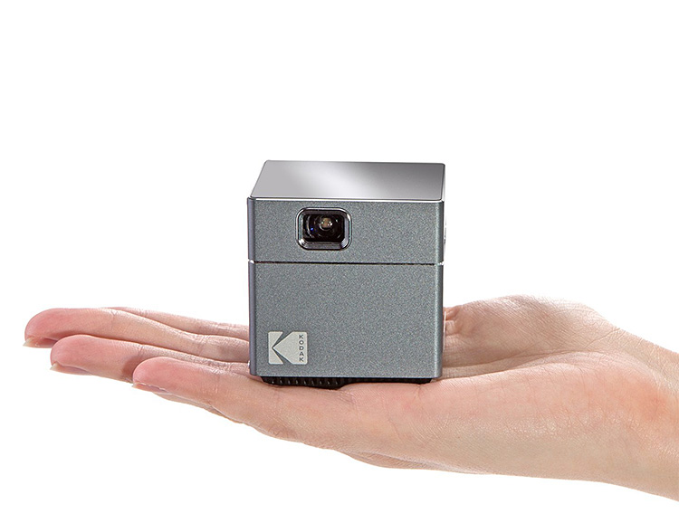 Kodak's Wireless WiFi Portable Projector Brings Big Screen Viewing in a Palm Size Package at werd.com