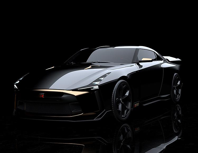 Nissan & Italdesign Unveil 50th Anniversary GT-R50 at werd.com