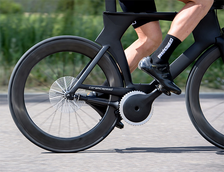 CeramicSpeed Introduces A Chainless Bicycle Design at werd.com