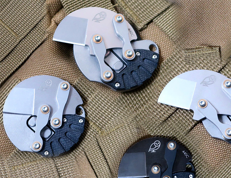 This Knife Fits in the Coin Pocket of Your Pants at werd.com