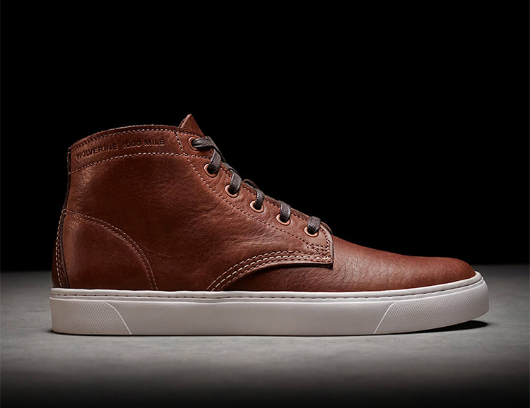 Wolverine Introduces 1000-Mile Original Sneaker at werd.com