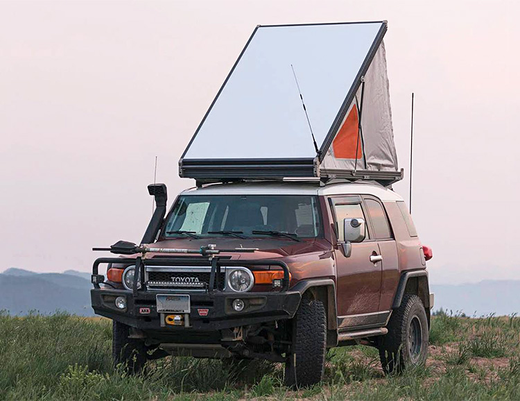 This is the Thinnest Rooftop Tent on the Market at werd.com