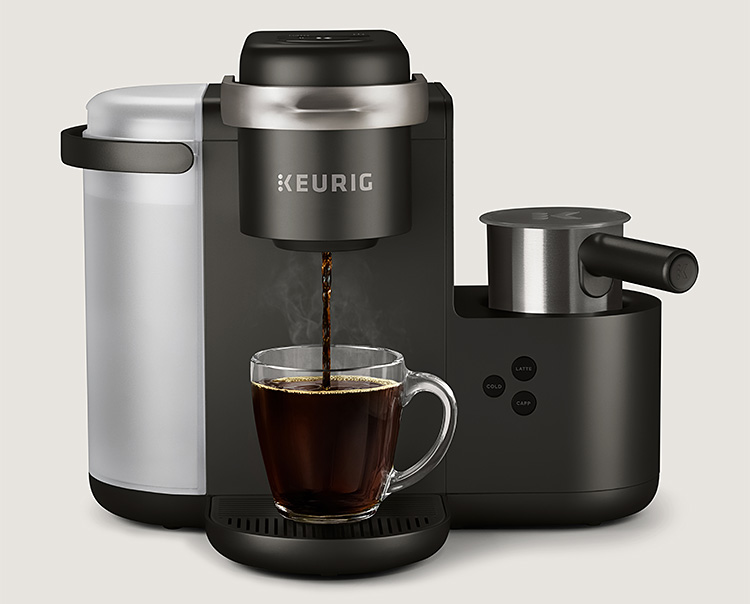 Keurig Introduces K-Café Cappuccino Maker at werd.com