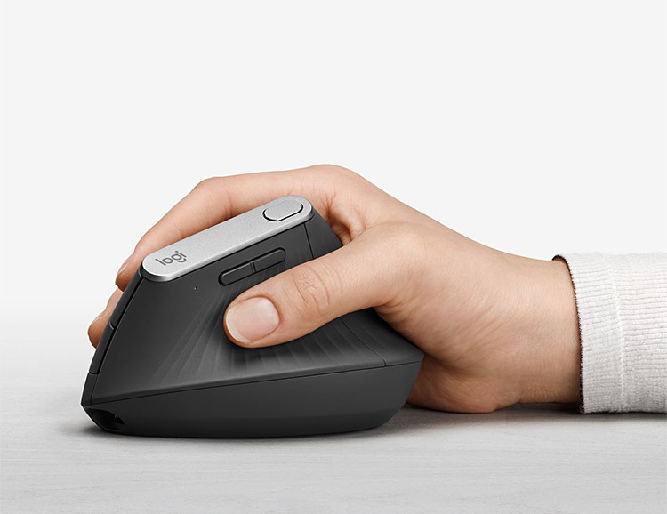 Logitech Introduces MX Vertical Mouse at werd.com