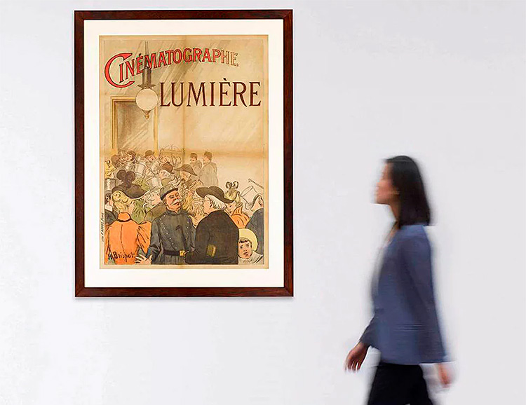 Sotheby's is Selling the First Movie Poster Ever Made at werd.com