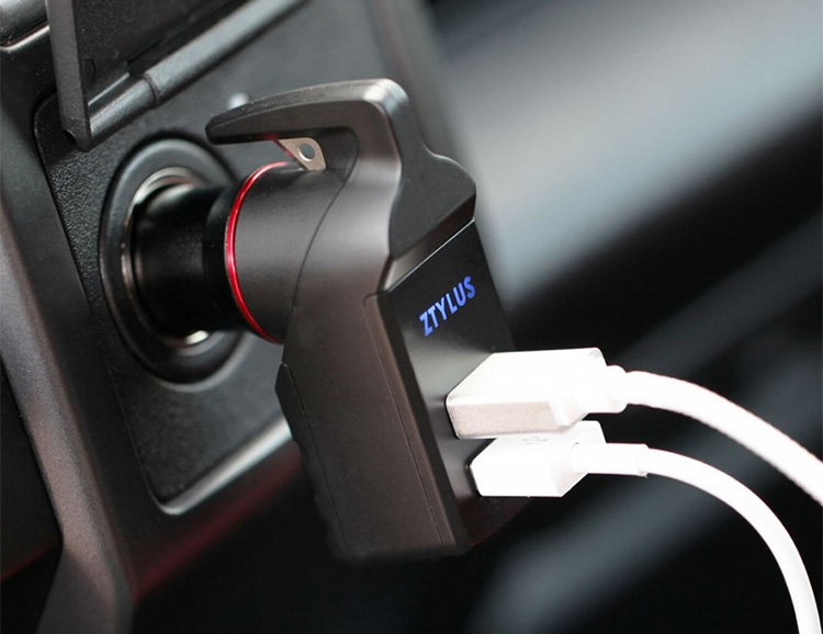 The Stinger Emergency Escape Tool Powers Up Your Phone & Saves Lives at werd.com