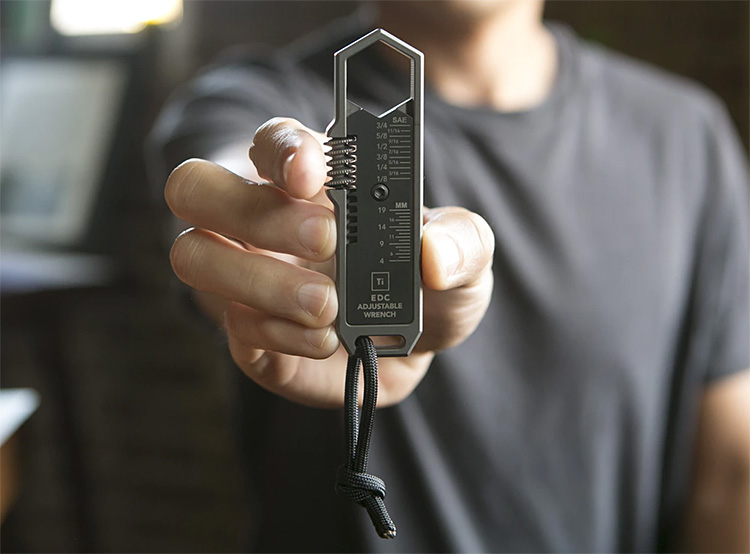 Check Out This Awesome EDC Adjustable Wrench at werd.com