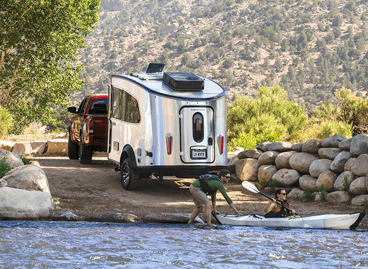 Airstream Launches an Upgraded Version of Their Pint-Size Basecamp Trailer at werd.com