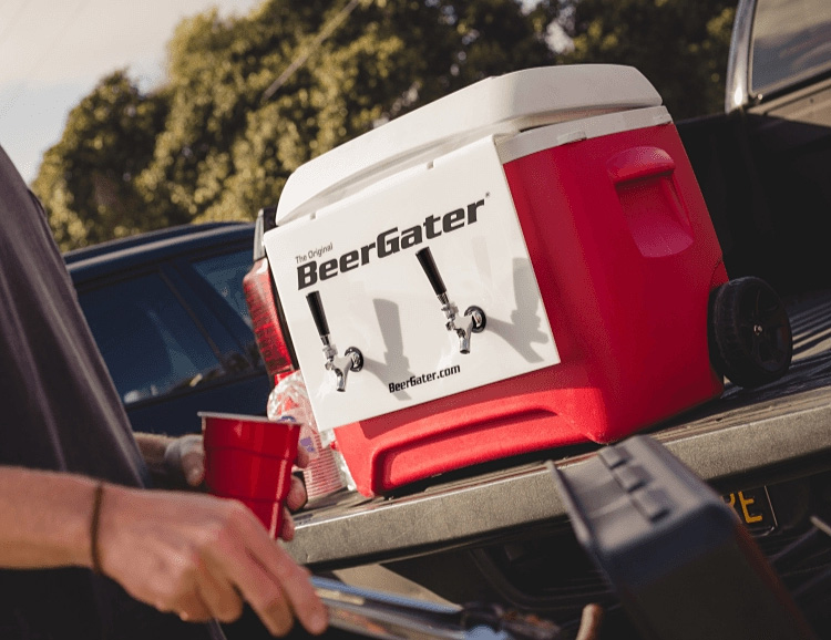 BeerGater Transforms Any Cooler Into a Keg at werd.com
