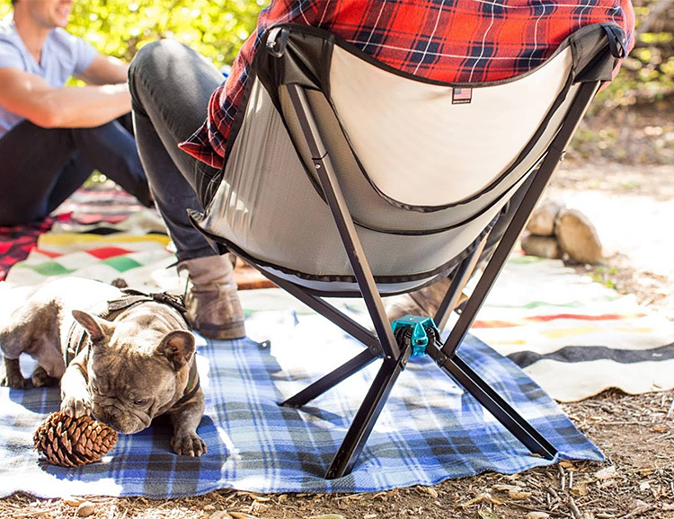You've Never Seen a Camp Chair that Packs Down This Small at werd.com