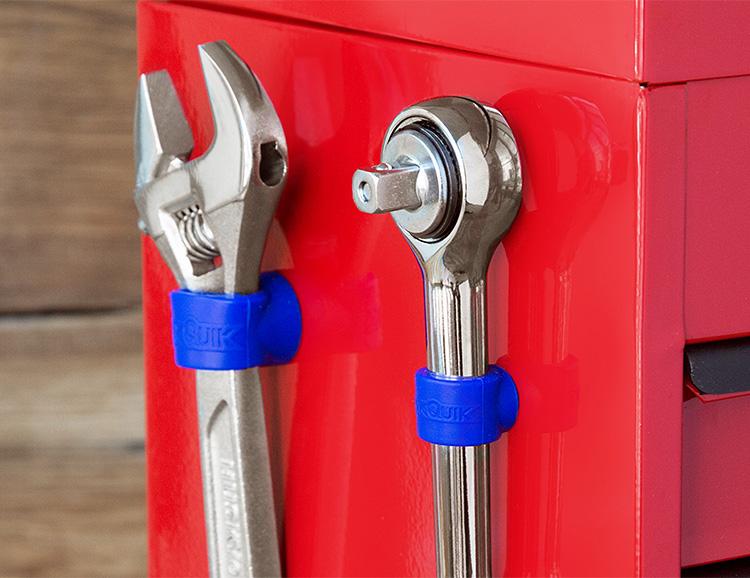 StickQuik Magnetic Grommets Keep Tools Handy at werd.com