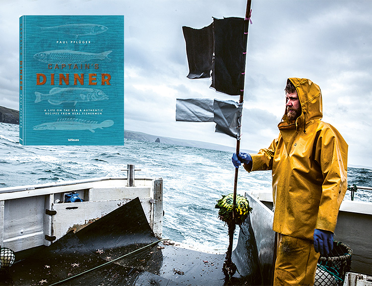 Captain's Dinner: A Life On The Sea & Authentic Recipes From Real Fishermen at werd.com