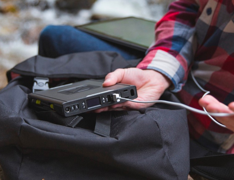GoalZero's Sherpa 100AC is a Pro-Grade Travel Power Bank at werd.com