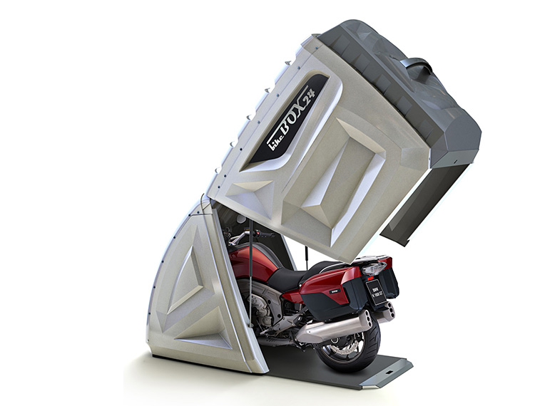 Store Your 2-Wheeled Toys in a Bike Box at werd.com