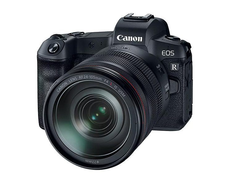 The EOS-R is Canon's First Full-Frame Mirrorless DSLR at werd.com