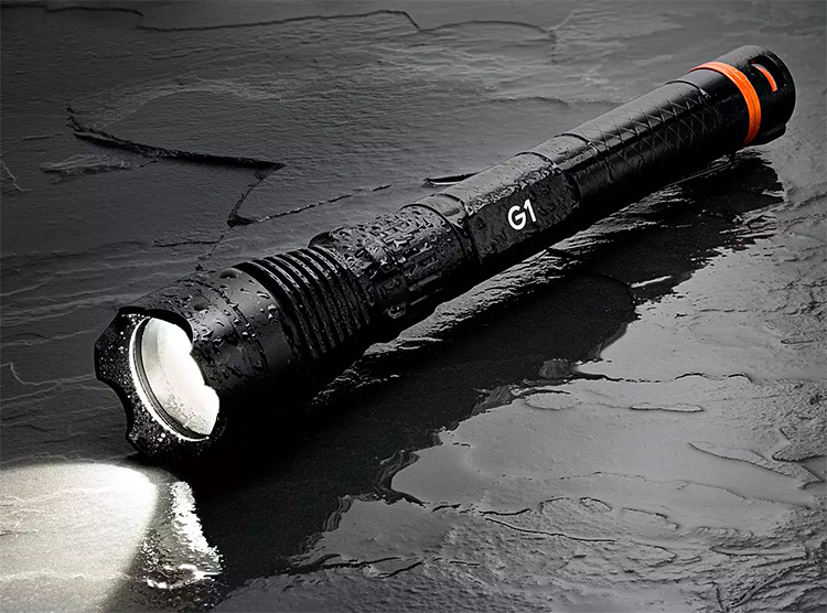 The DanForce G1 Pro Might Be the Ultimate Flashlight at werd.com