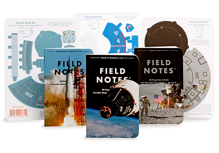 Field Notes' 3 Missions Pack Come with a Special Surprise at werd.com