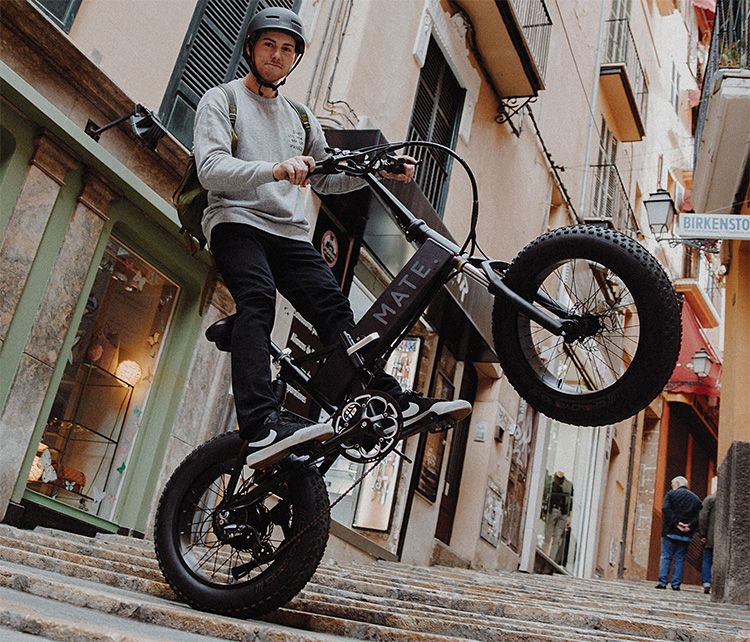 Mate X is an Affordable & Fully Loaded Folding E-Bike at werd.com