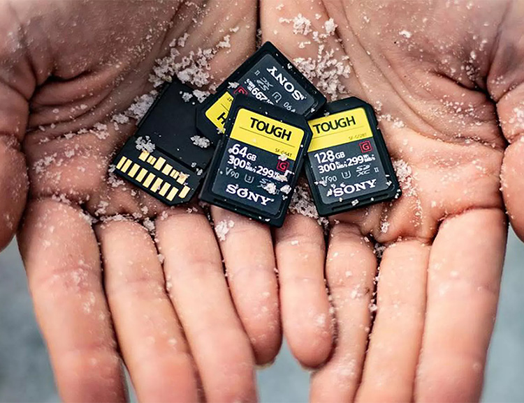 Sony Introduces Thrash-Proof Tough SD Cards at werd.com