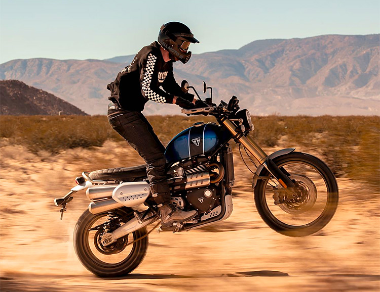 Triumph Rolls Out A Shred-Ready 1200cc Scrambler at werd.com