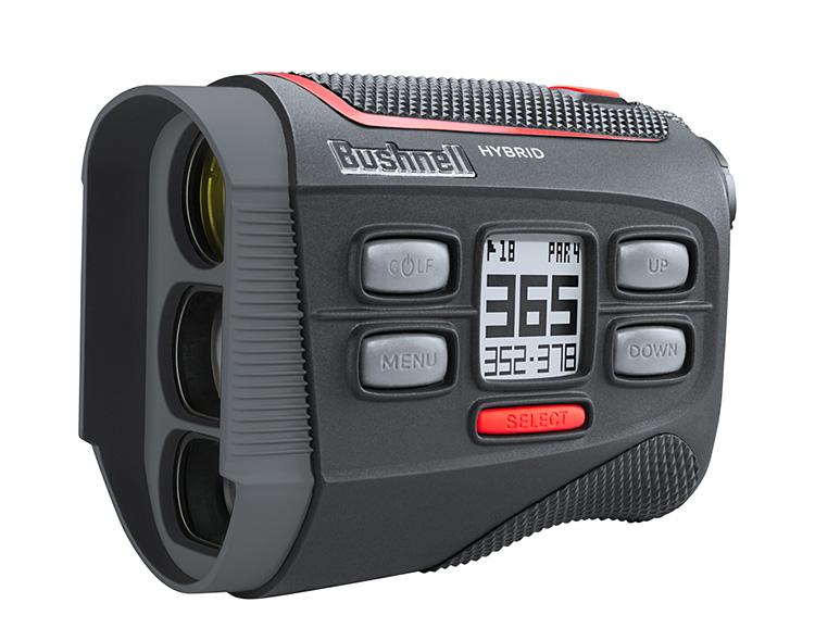 Bushnell Hybrid Golf Rangefinder Delivers Both Laser & GPS Yardages at werd.com