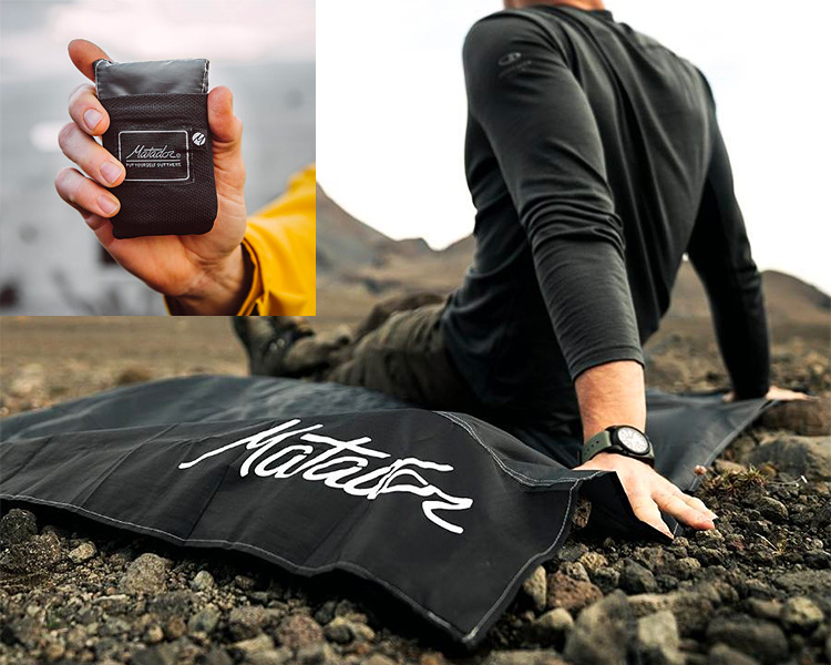 Have a Seat with Matador's Pocket Blanket 2.0 at werd.com