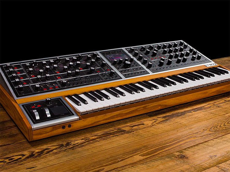 Analog Awesome: The Moog One Polysynth at werd.com