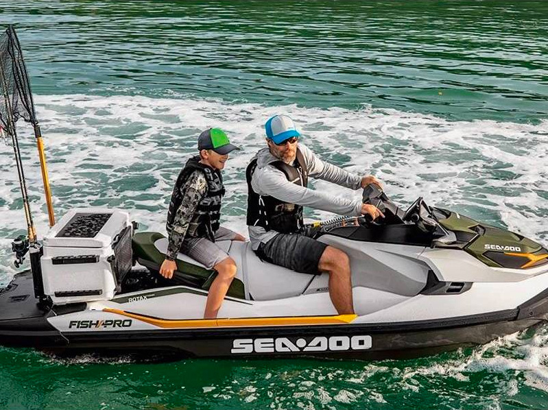 Sea-Doo's Fish Pro PWC is Designed Just For Us Anglers at werd.com