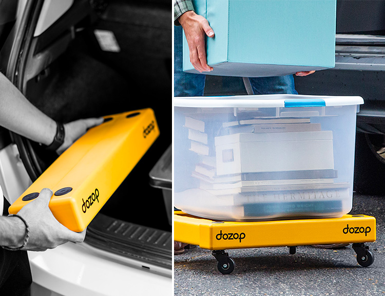 The Compact Dozop Dolly Will Really Move You at werd.com