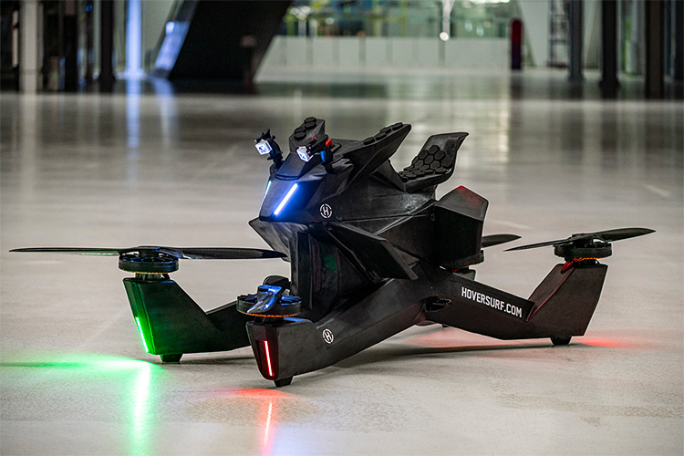 Hoversurf Has an Electric Aircraft Unlike Any Other at werd.com