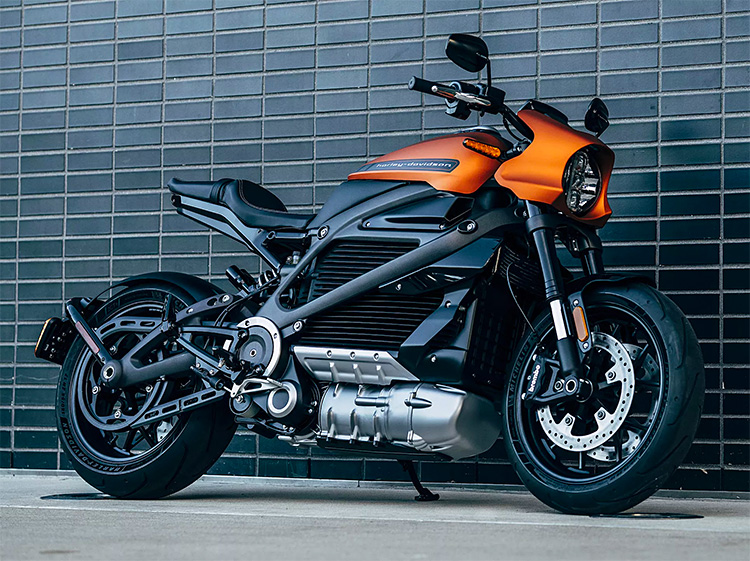 Harley-Davidson Introduces LiveWire Electric Motorcycle at werd.com