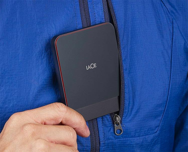 LaCie's Portable SSD: Pocketable & Fast at werd.com