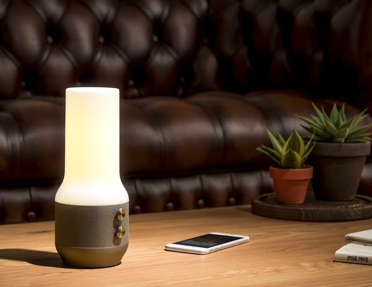Get Music, Mood Lighting, & Portable Power All-In-One at werd.com