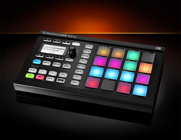 Plug In & Make Music with the Maschine Mikro at werd.com