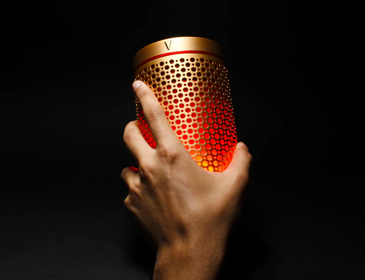 The SoundWave Portable Speaker Lights Up The Night at werd.com