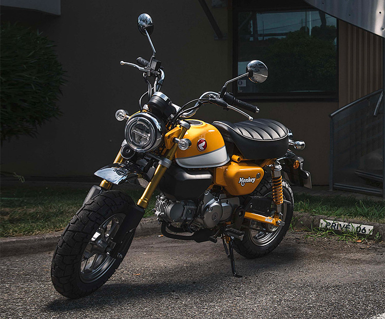 Looks Like Fun: The 2019 Honda Monkey at werd.com