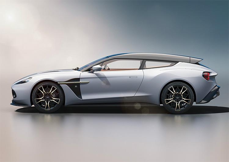 Behold: The Aston Martin Vanquish Zagato Shooting Brake at werd.com