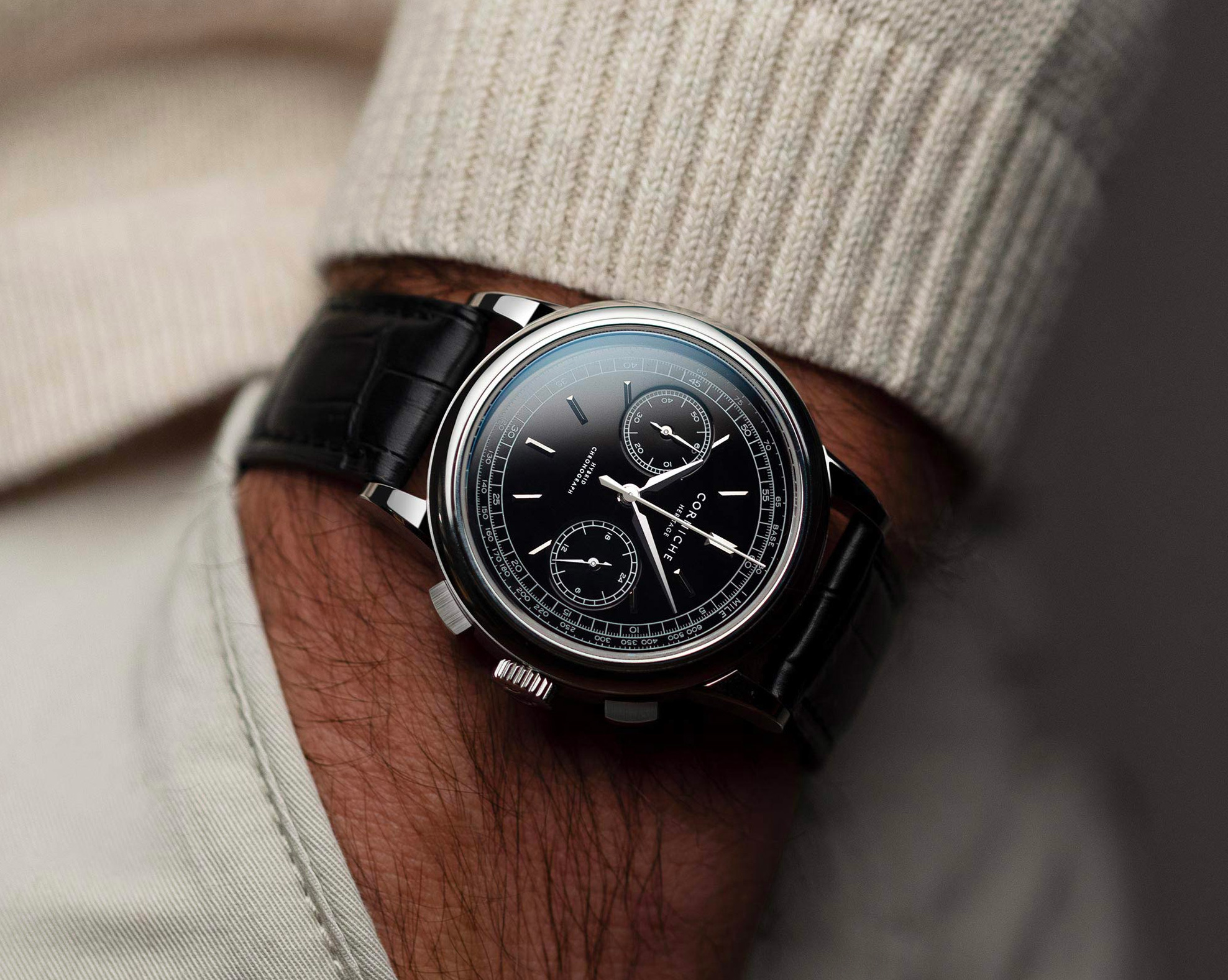 Bang For Your Buck: The Corniche Heritage Chronograph at werd.com