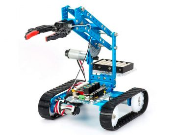 Build & Program Your Own Roving Robots with Makeblock's Ultimate 2.0