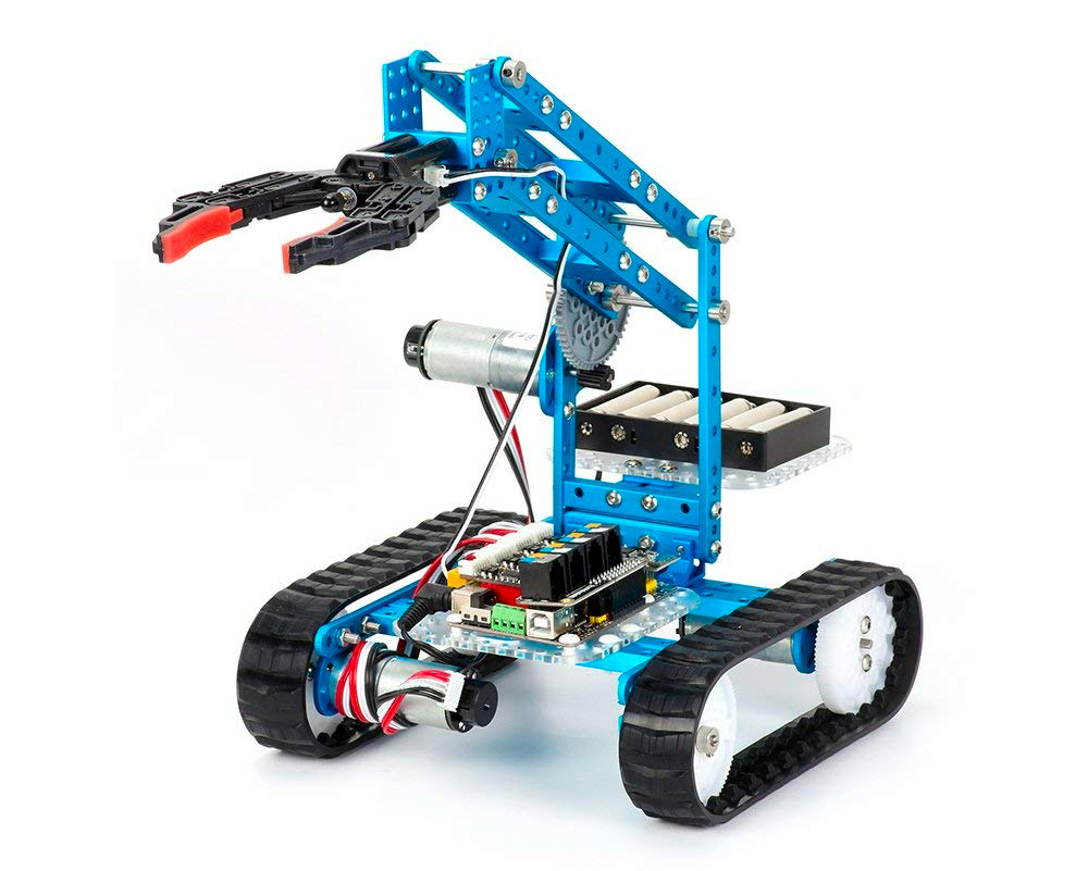 Build & Program Your Own Roving Robots with Makeblock's Ultimate 2.0 at werd.com