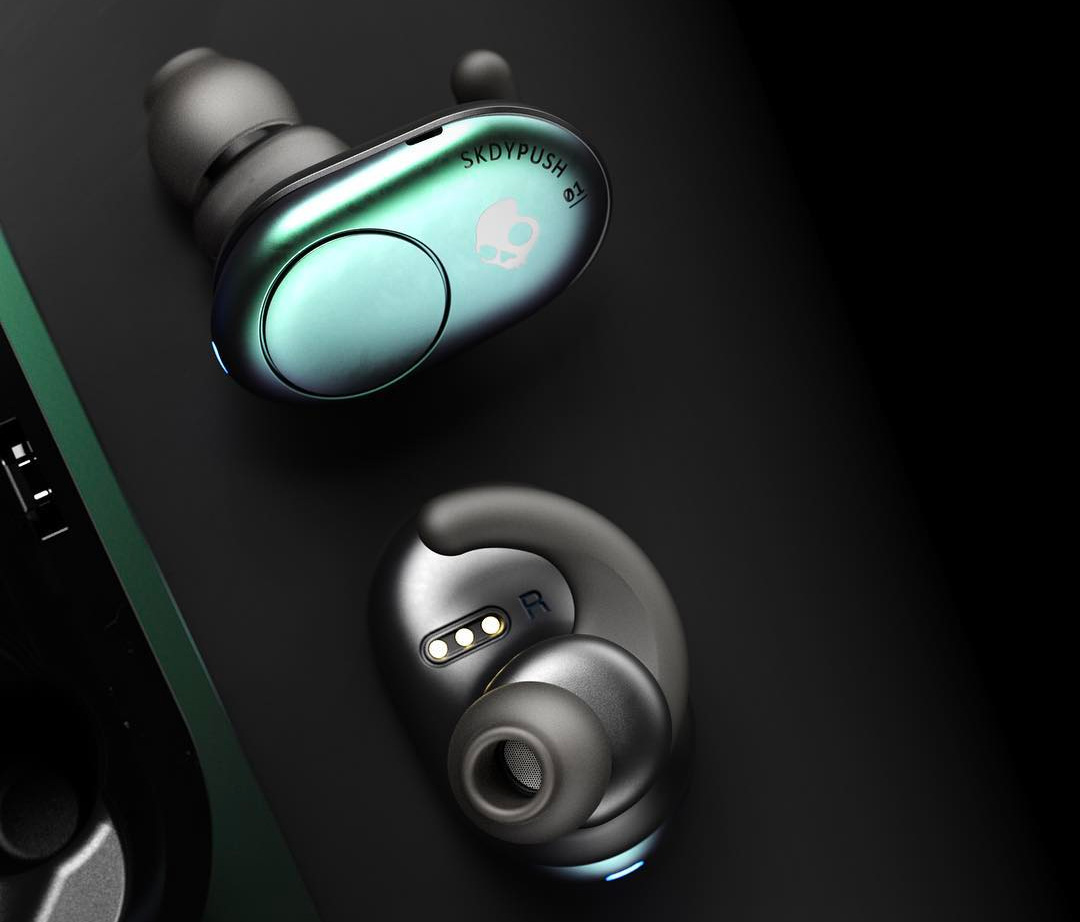 Skullcandy Introduces Push Wireless Earbuds at werd.com
