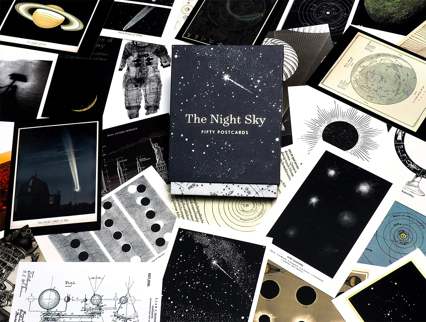These Premium Postcards Celebrate The Starry Skies Above at werd.com