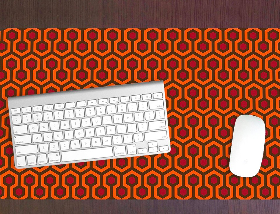 This Desk Mat Will Make Your Workspace Shine at werd.com