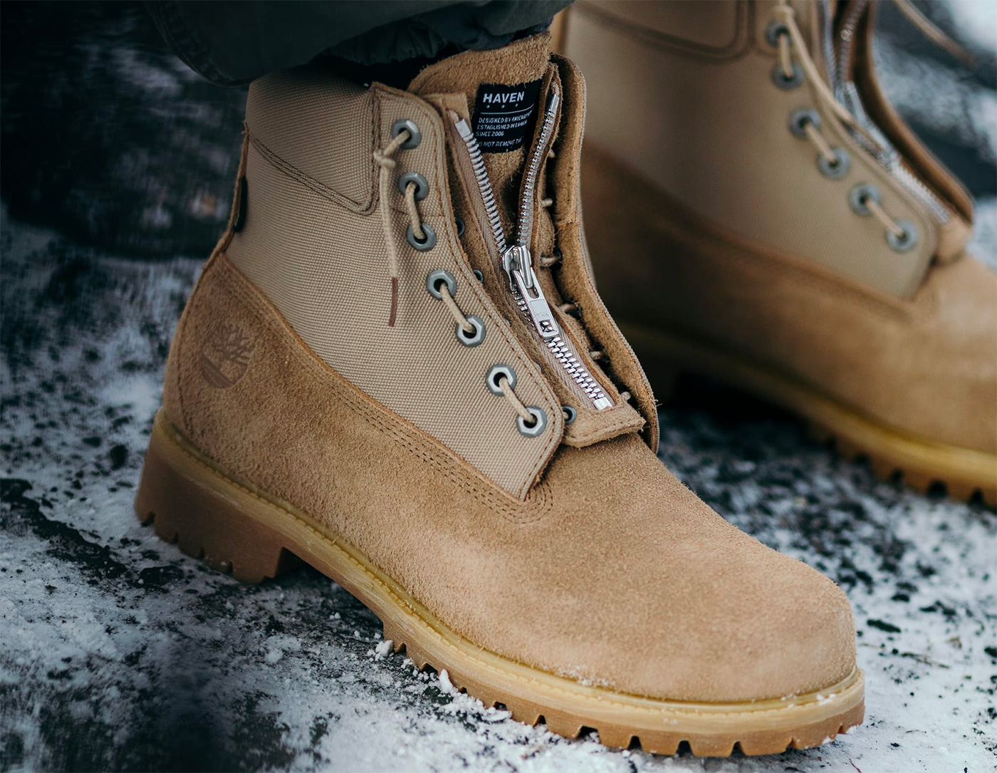 Haven x Timberland Drop a Classic Gore-Tex Boot at werd.com