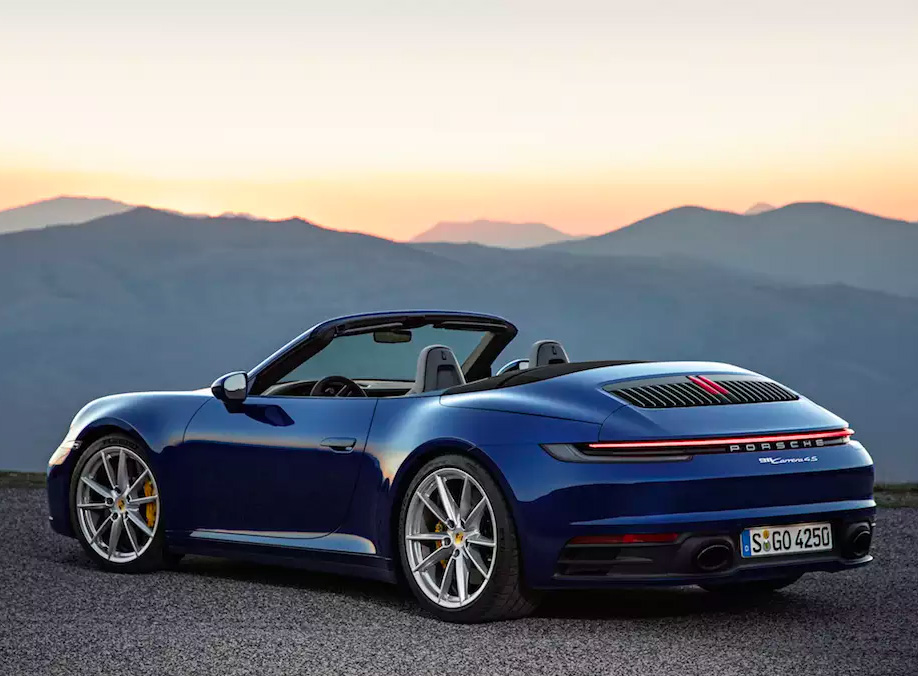 Porsche Unveils 2020 911 Carrera S & Cabriolet at werd.com