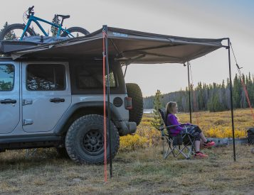 Rhino-Rack has a Wraparound Awning for your Mid-Size Adventuremobile
