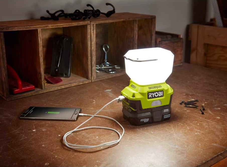 Light Up Your Life with Ryobi's EVERCHARGE LED at werd.com