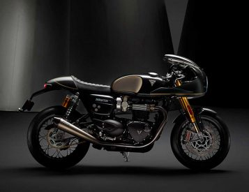 Triumph Launches Gorgeous Thruxton TFC